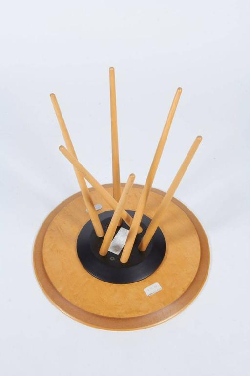 Spindle Legged Maple Quot Toothpick Table Quot By Lawrence Laske