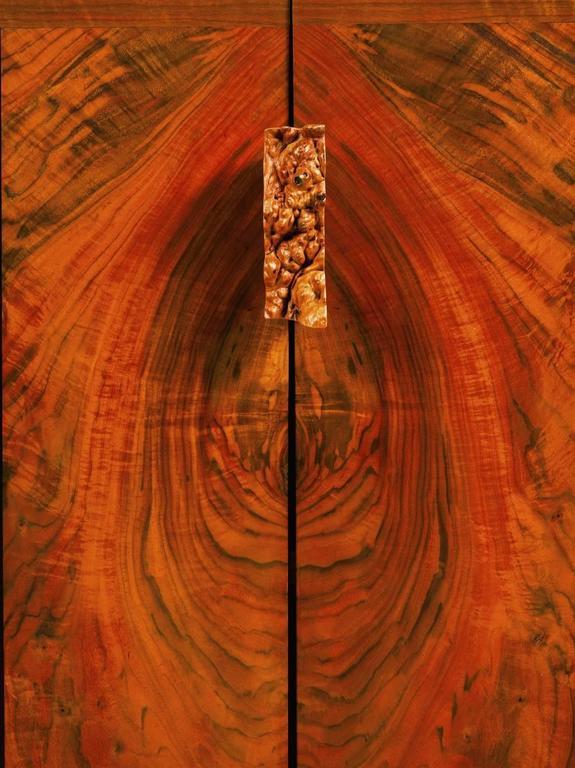 George Nakashima Walnut Cabinet with Burl Pull, USA, 1991 2