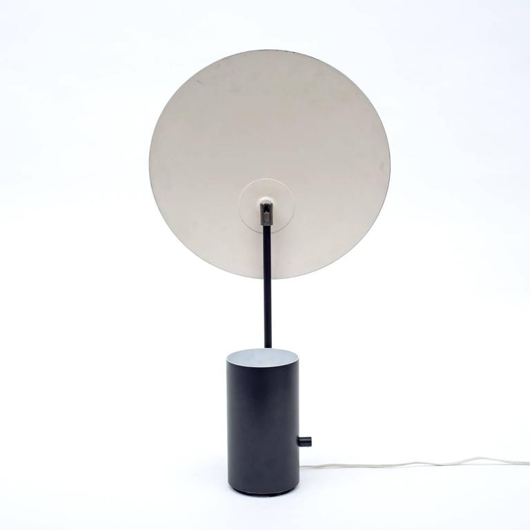 George nelson black half nelson lamp adjustable for Half nelson table lamp