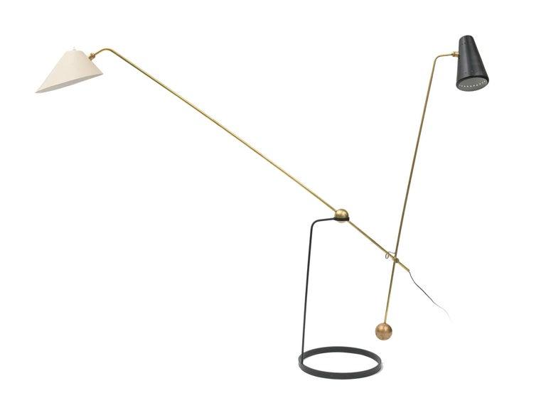 Pierre Guariche Equalibrium Floor Lamp for Disderot, France, 1950s 2
