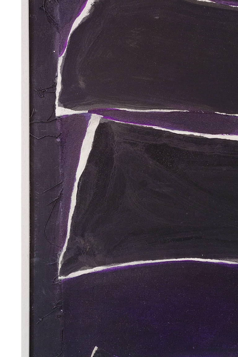 """Adja Yunkers Painting """"Melville"""" USA, 1980 In Excellent Condition For Sale In New York, NY"""