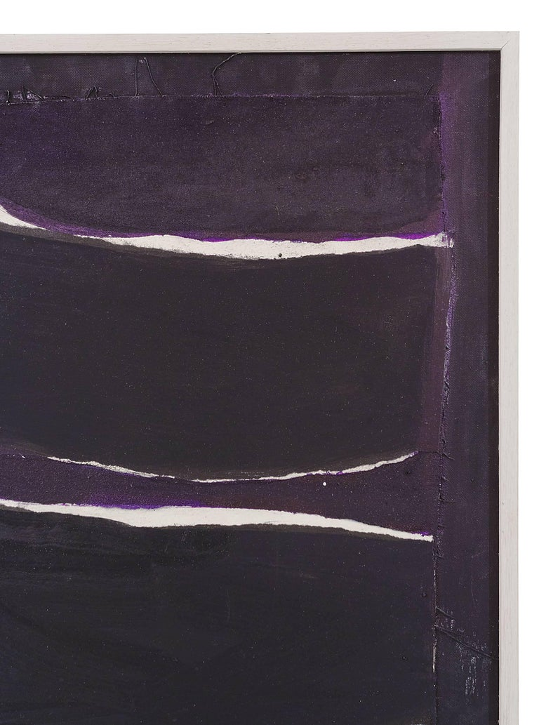 """Late 20th Century Adja Yunkers Painting """"Melville"""" USA, 1980 For Sale"""