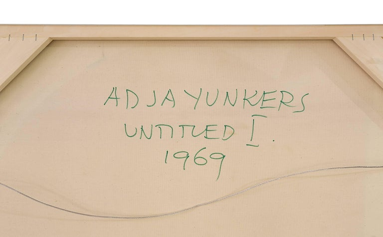"Adja Yunkers Painting ""Untitled l"" USA, 1969 5"