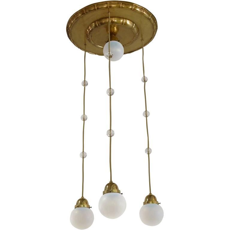 Koloman moser 4 opaline glass shade chandelier attributed for koloman moser 4 opaline glass shade chandelier attributed for sale aloadofball Choice Image