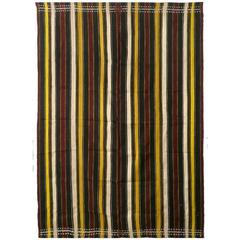 "Handwoven Silk ""Lamba"" Textile from Madagascar"