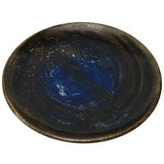 Large Scandinavian Ceramic Bowl or Platter by Bertil Lundgren
