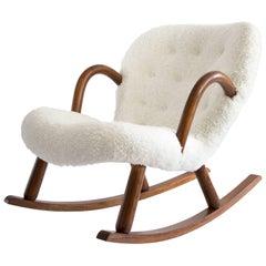Phillip Arctander Clam Shell Rocker Chair
