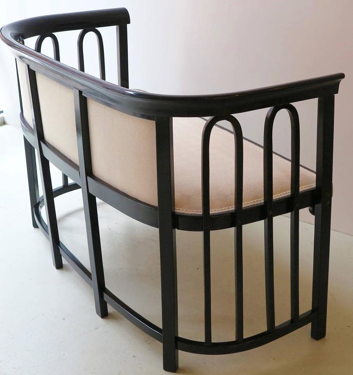 Vienna Secession Josef Hoffmann Settee For Sale