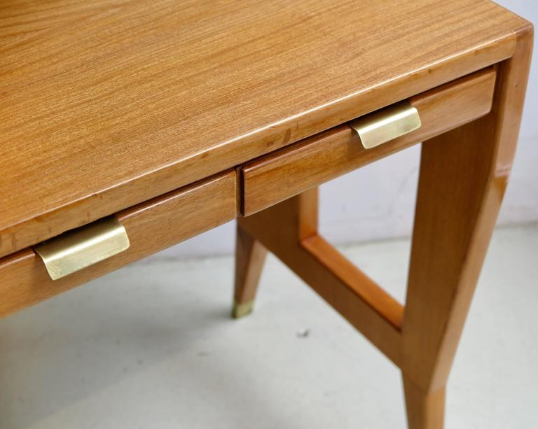 Gio Ponti Pair of Desks or Tables In Good Condition For Sale In New York, NY