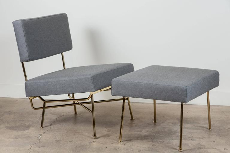 Contemporary Pair of Montrose Chairs by Lawson-Fenning For Sale