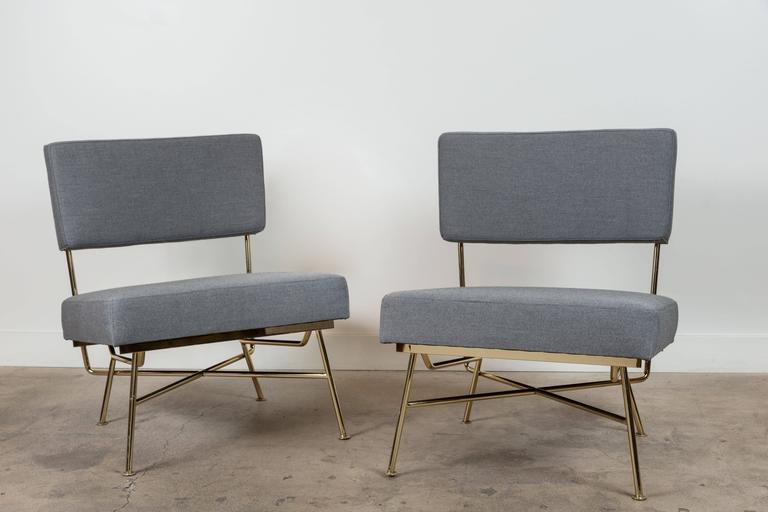 Pair of Montrose Chairs by Lawson-Fenning For Sale 3