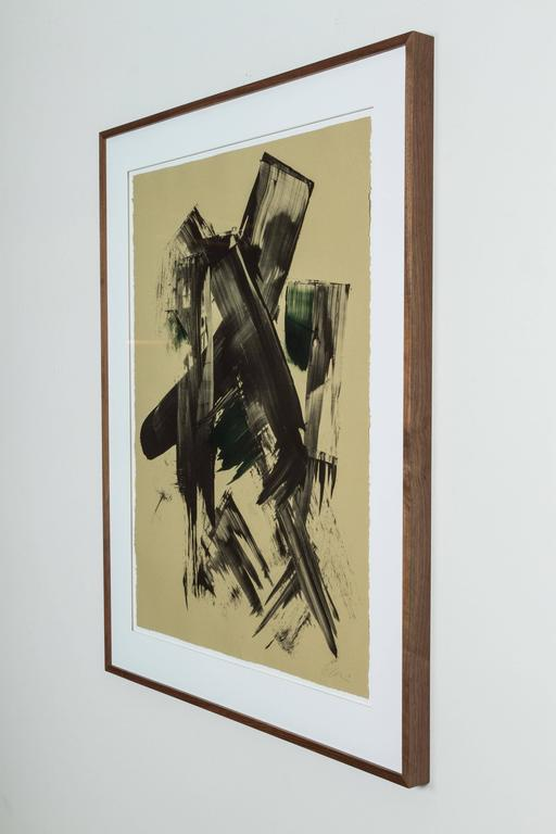 Mid-Century Modern Mono Print by Anna Ullman For Sale