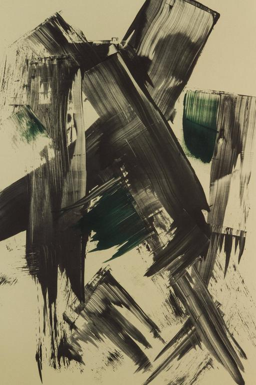 American Mono Print by Anna Ullman For Sale