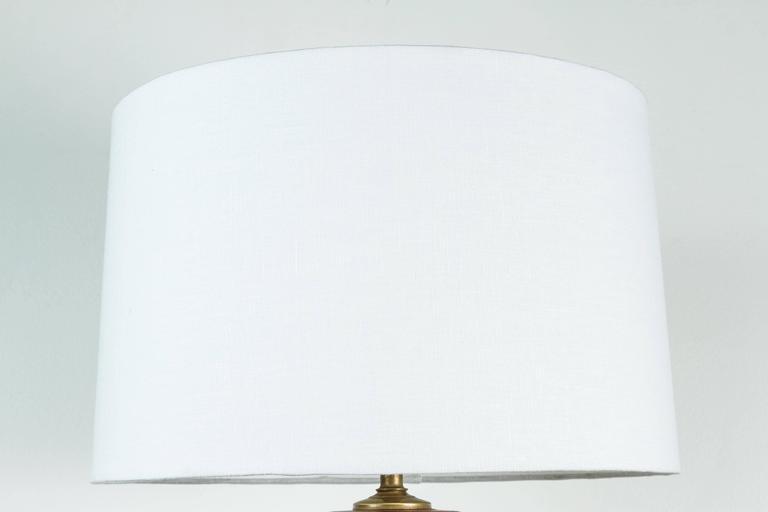 Vintage Burl Wood Lamp 3