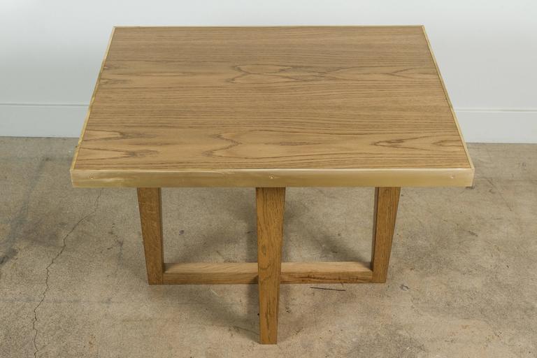 Four Leg Rialto Table by Lawson-Fenning For Sale 3