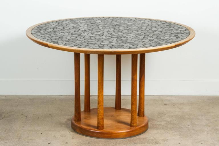Round Studio Tiled Centre Table by Martz 2