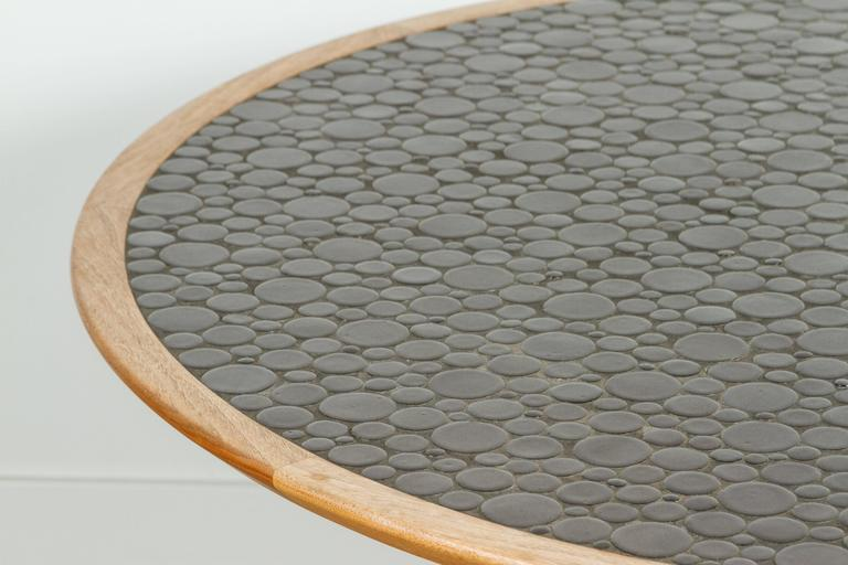 Round Studio Tiled Centre Table by Martz 3