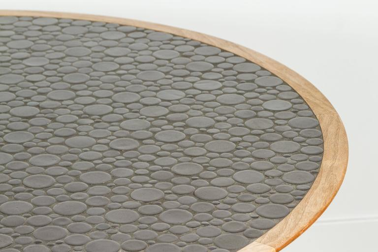 Round Studio Tiled Centre Table by Martz 5