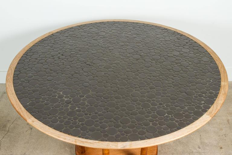 Round Studio Tiled Centre Table by Martz 6