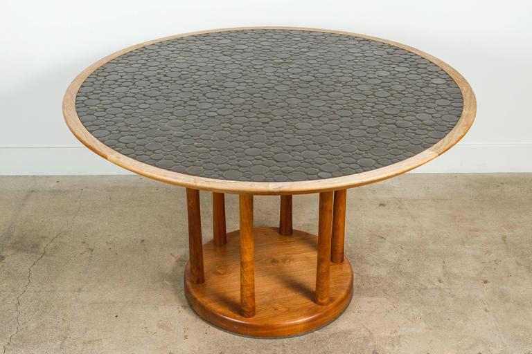 Round Studio Tiled Centre Table by Martz 7