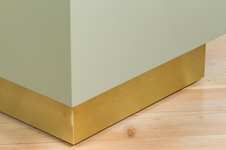 Stacked Box Nightstand with Brass by Lawson-Fenning 10