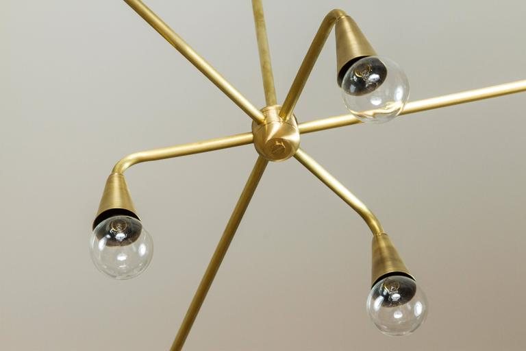 Six Globe Chandelier by Lawson-Fenning 3