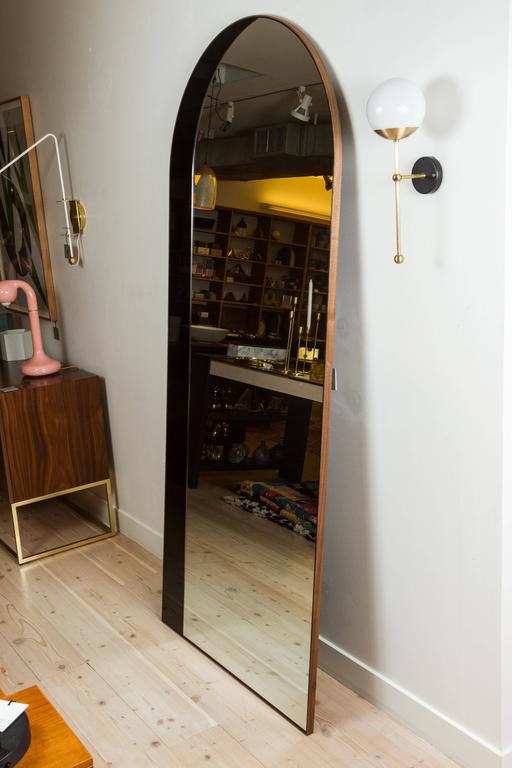 Arch Floor Mirror by Bower For Sale 4