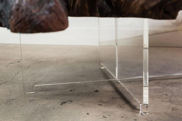Contemporary Redlands Coffee Table by Lawson-Fenning For Sale