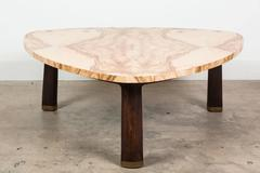 Olive Burl Coffee Table by Edward Wormley for Dunbar