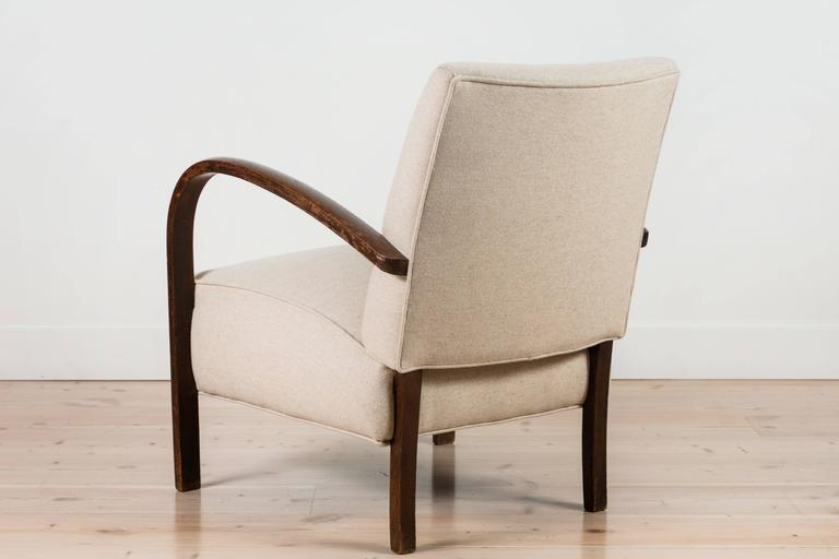 Pair of French, 1940s Club Chairs 6