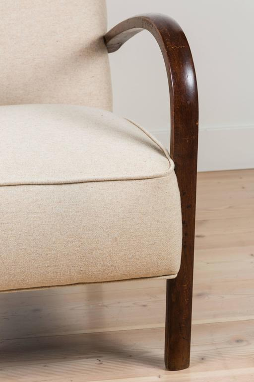 Pair of French, 1940s Club Chairs 9