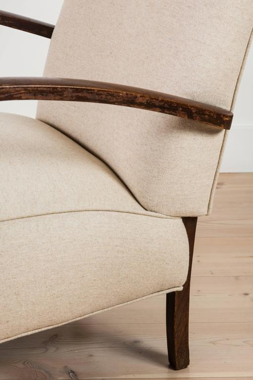 Pair of French, 1940s Club Chairs 10