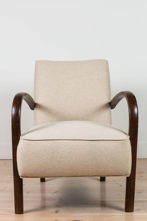 Pair of French, 1940s Club Chairs 3