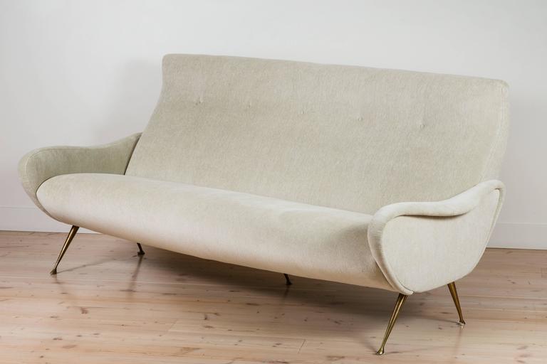 Italian Mohair Sofa 2