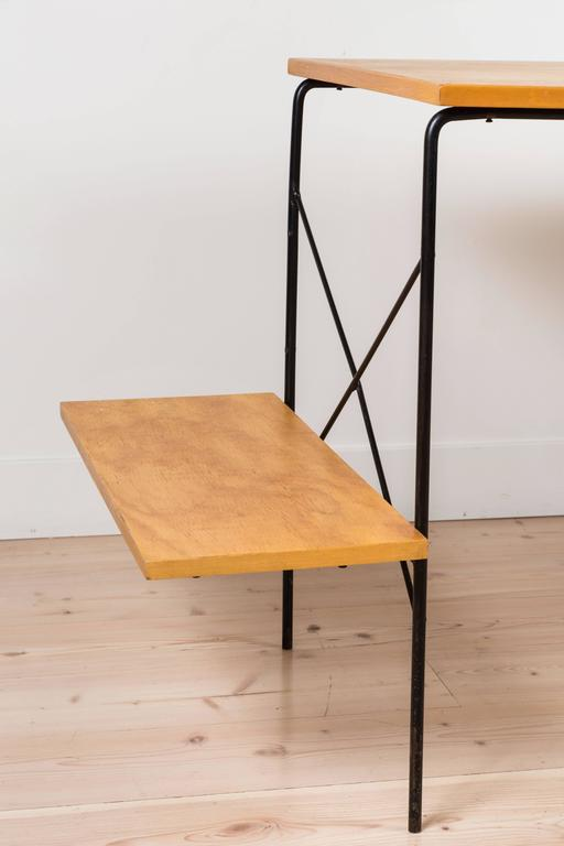 Iron and Maple Desk by Dorothy Schindele for Modern Color CA 2