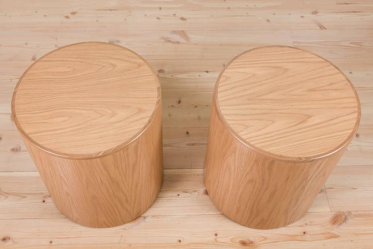 Pair of Oak Prospect Tables by Lawson-Fenning 3