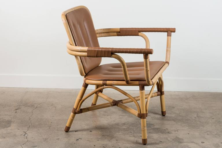 American Skin Armchair by Collection Particuliere For Sale