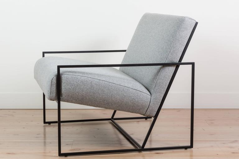 Thin frame lounge chair by Lawson-Fenning Available to order in customers own materials with & Thin Frame Lounge Chair by Lawson-Fenning For Sale at 1stdibs