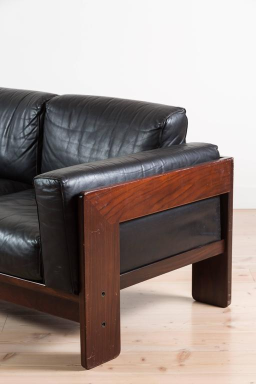 rosewood bastiano sofa by tobia scarpa for knoll at 1stdibs. Black Bedroom Furniture Sets. Home Design Ideas