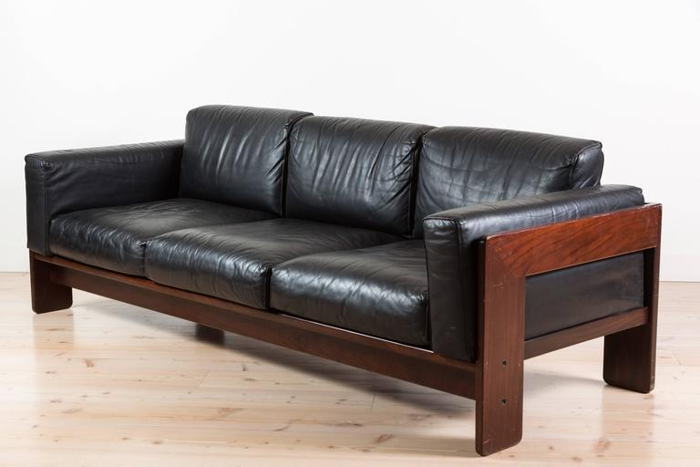 rosewood bastiano sofa by tobia scarpa for knoll for sale. Black Bedroom Furniture Sets. Home Design Ideas