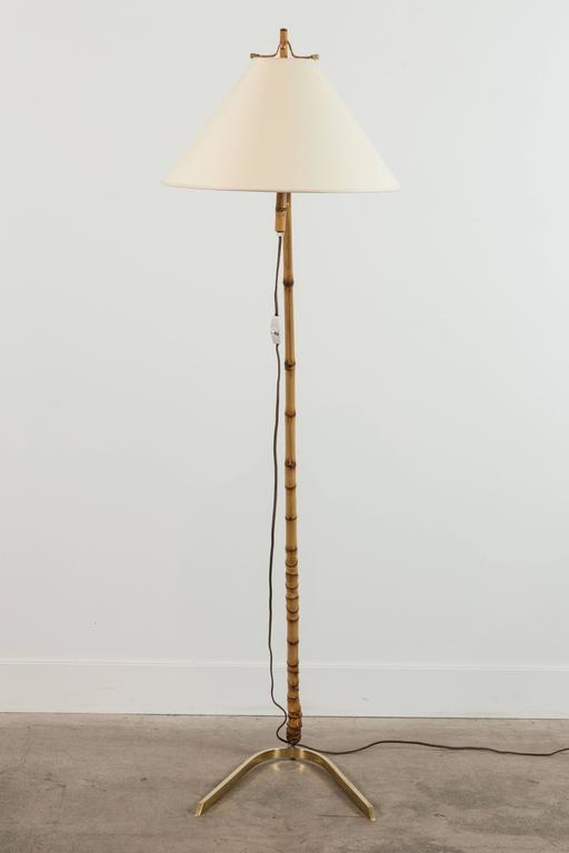 Bamboo Floor Lamp by J.T. Kalmar 3