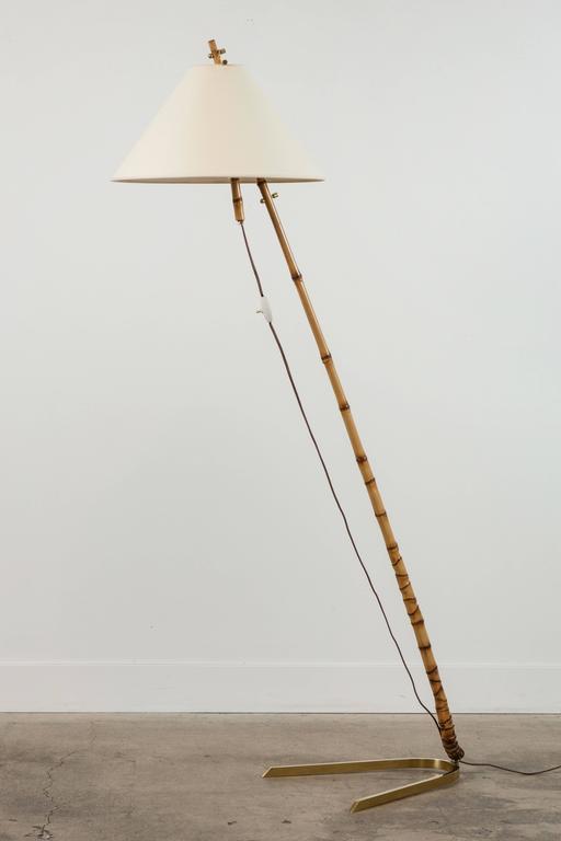 Bamboo Floor Lamp by J.T. Kalmar 6