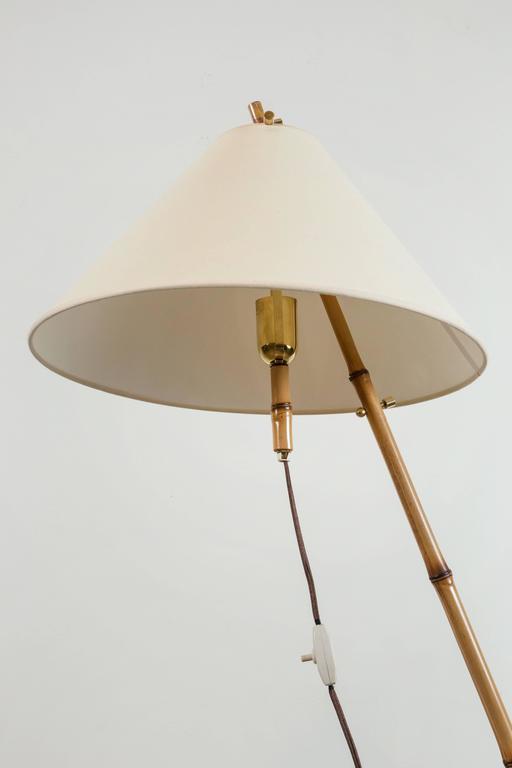 Bamboo Floor Lamp by J.T. Kalmar 8