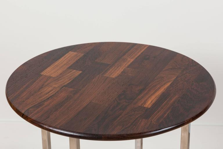 Solid Rosewood Cocktail Table by Milo Baughman 3