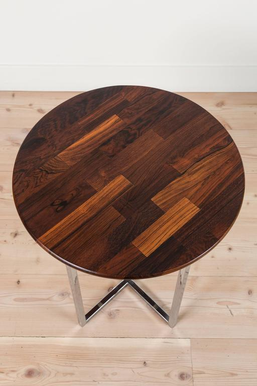Solid Rosewood Cocktail Table by Milo Baughman 7