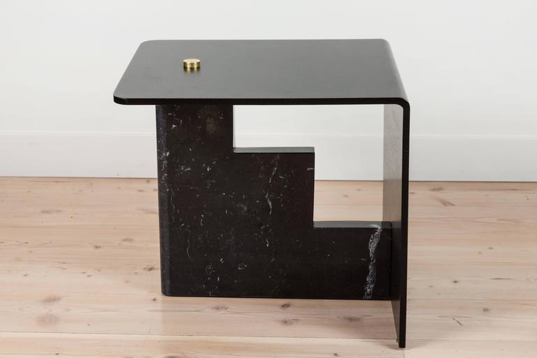 Mid-Century Modern Huxley Side Table by Lawson-Fenning For Sale