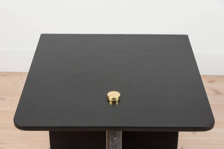 Huxley Side Table by Lawson-Fenning In Excellent Condition For Sale In Los Angeles, CA