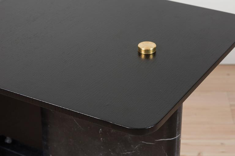 Contemporary Huxley Side Table by Lawson-Fenning For Sale