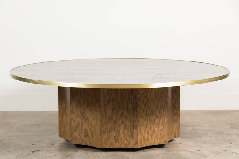 Normandie coffee table by Lawson-Fenning.