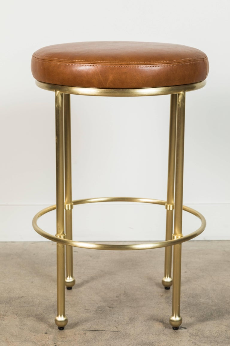 Mid-Century Modern Orsini Counterstool by Lawson-Fenning For Sale